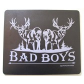 """BAD BOYS Mull Deer Mouse Pad - King's Hunting Large """"Made in the USA"""""""