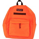 Fire Force Classic Backpack School Daypack Book Bag Hiking Pack Made in USA (Neon Orange)
