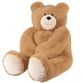 Vermont Teddy Bear - Big Giant Love Bear, 4 Feet Tall, Brown