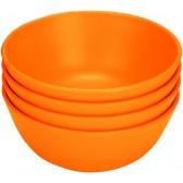 Green Eats 4 Pack Snack Bowl, Orange