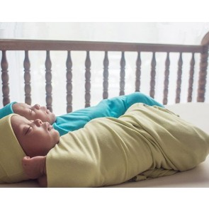 Baby Swaddle Blanket. 70% viscose from Organic Bamboo and 30% Organic Cotton