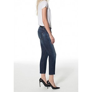 Genetic Jeans Women's Daphne Skinny Crop- Orion 23 Dark Blue