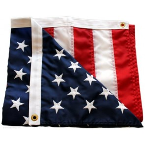 5-Star Rated American Flag / US Flag - 4x6ft - by Federal Flags - Fully Sewn Stripes, Embroidered Stars - Outdoor Nylon - Made in the USA by Master Flagmakers