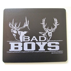 "BAD BOYS Elk and Mull Deer Mouse Pad - King's Hunting Large ""Made in the USA"""