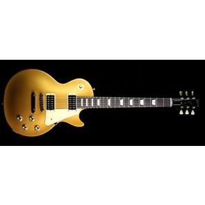 Gibson 2016 T Les Paul Studio 50's Tribute Electric Guitar, Gold Top