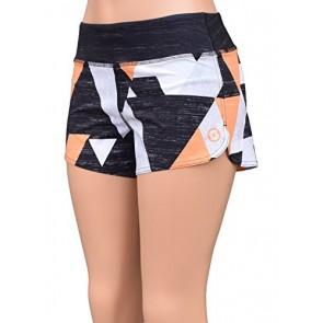 UN92 WC14 Women's Block Fit Shorts, Orange-2
