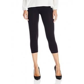 NIKIBIKI Women's Capri Jersey Seamless Legging, Black, One Size