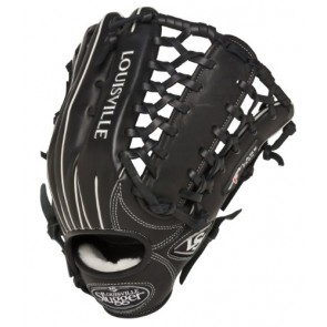 Louisville Slugger 13-Inch FG Pro Flare Baseball Outfielders Gloves, Black, Left Hand Throw