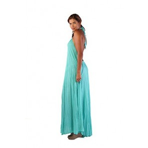 Ingear Tent Maxi Dress (Small/Medium, Aqua)