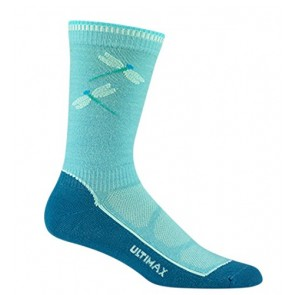 Wigwam Men's Cool-Lite Hiker Pro Crew Socks,Medium,Aqua