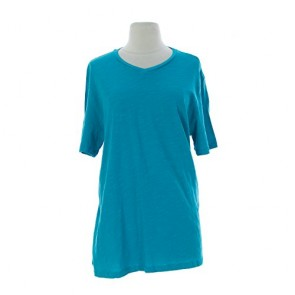 VELVET by Graham & Spencer Women's Short Sleeve T-Shirt Large Sea Green