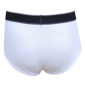 2014 Award Winning Fannypants Denali White Incontinence Briefs for Men (S)