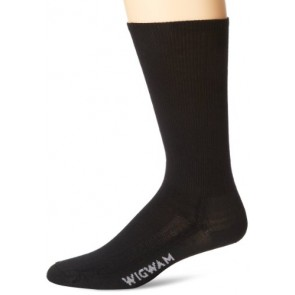 Wigwam Men's Merino Airlite Pro Socks, Black, Medium