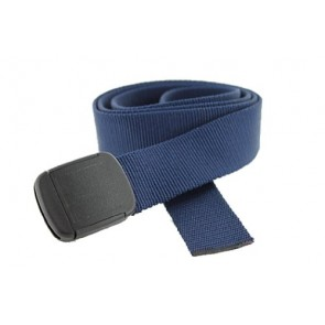 Big & Tall Hiker Web Belt Made in USA by Thomas Bates (Navy)