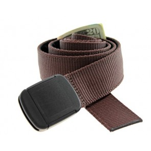 Hiker Money Belt Made in USA by Thomas Bates (Brown)
