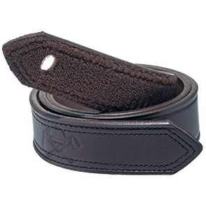 Working Person's 6530-1 1.5inch Full Grain Brown Leather Velcro Belt - Made In The USA (32)