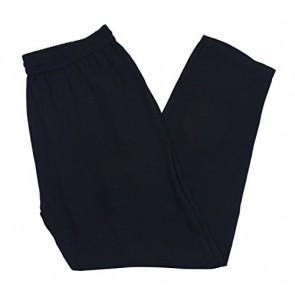 Eileen Fisher Black Drawstring Waist Ankle Pant
