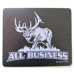"ALL BUSINESS ELK Mouse Pad - Hunting Large ""Made in the USA"""