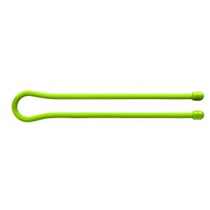 "Nite Ize Gear Tie 18"" - Lime Green 2 Pack"