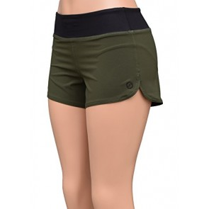 UN92 WC14 Women's Nature Fit Shorts, OD Green