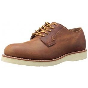 Red Wing Heritage Men's Postman Oxford, Copper Rough/Tough, 7 D US