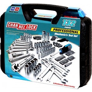132 PC. Mechanic's Tool Set by Channellock