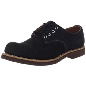 Red Wing Heritage Men's Work Oxford Shoe,Black Abilene,7 D(M) US