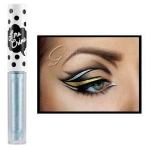 (6 Pack) LIME CRIME Eyeliners - Reason-Metallic Silver