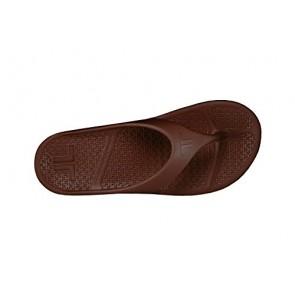 Telic Flip Flop Espresso Brown Size Adult XS 14-0134