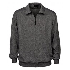 Akwa Men's 1/4 Zip Sweater Made in USA