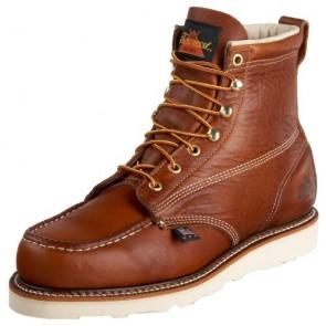 "Thorogood 814-4200 American Heritage 6"" Moc Toe Boot, Tobacco, 9 B US"