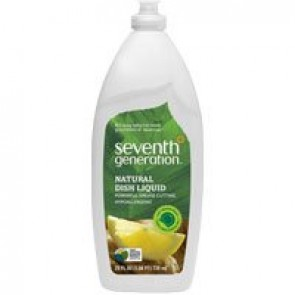 Seventh Generation Natural Dish Liquid Fresh Citrus and Ginger -- 25 fl oz