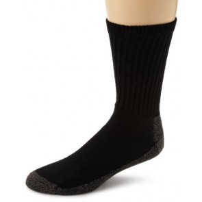 Wigwam At Work Crew 3-Pack Socks- Black