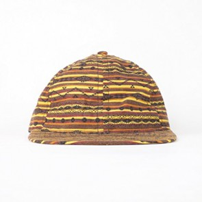 FairEnds Men's Western Ball Cap Red/Brown/Gold