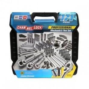 Channellock 39053 Mechanics Tool Set, 171-Piece