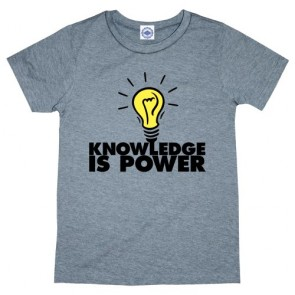 Hank Player 'Glow-In-The-Dark Knowledge Is Power' Boy's T-Shirt (2T, Heather Grey)