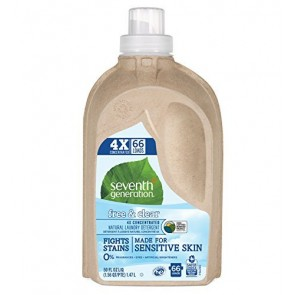 Seventh Generation - Free & Clear 4X Natural Laundry Detergent - 50 fl oz.