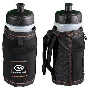 Orange Mud Handheld Bottle Holder - 21oz Black