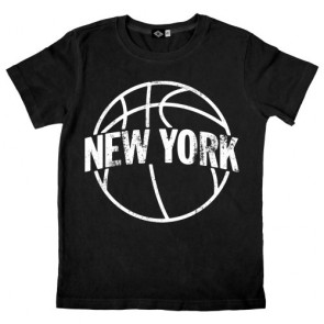 Hank Player 'New York Basketball' Boy's T-Shirt (2T, Black)