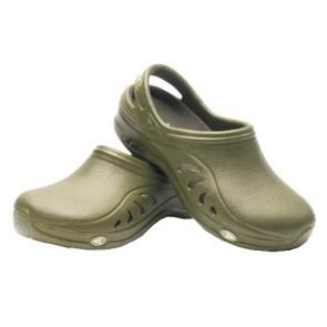 Sloggers 301GN06 Womens Unisex Garden Sandal, Green, Size 6