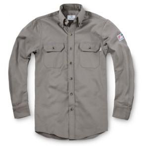 Tyndale Men's FRC Classic Work Shirt SMALL Gray