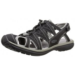 KEEN Women's Sage Sandal, Black/Neutral Gray, 5 M US