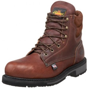 "Thorogood American Heritage 6"" Safety Toe Boot, Walnut, 7 D US"