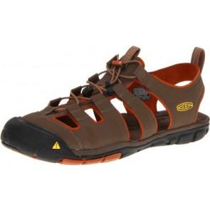 KEEN Men's Cascade CNX Sandal,Shitake/Bombay Brown,8 M US