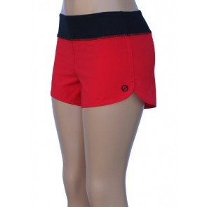 UN92 WC14 Women's Nature Fit Shorts,Red-2