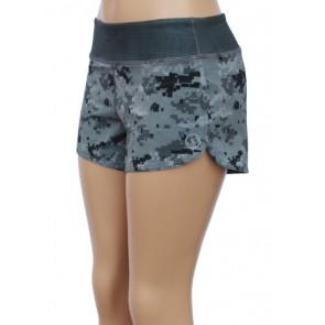 UN92 WC14 Women's Tactical Camo Fit Shorts, Digi Grey-2