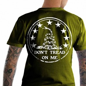 Bundle of 3 items. Don't Tread on Me Army SM T-Shirt. Made in USA