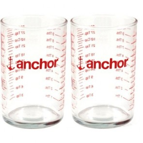 Anchor Hocking 5 Ounce Measuring Glass, Set of 2
