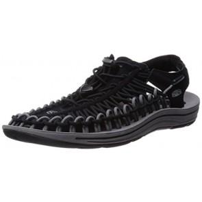 KEEN Men's Uneek Sandal, Black Gargoyle, 7 M US