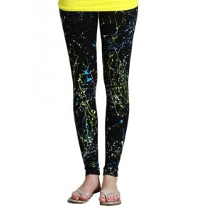 Nikibiki Paint Splattered Leggings